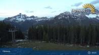 Archived image Webcam Filzmoos - Papageno Top Station 21:00