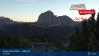 Archived image Webcam Col Raiser - Cal Gardena 00:00