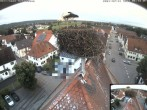 Archived image Webcam Stork Nest on top of the Town Hall of Jettingen-Scheppach 00:00