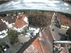 Archived image Webcam Stork Nest on top of the Town Hall of Jettingen-Scheppach 04:00