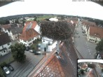 Archived image Webcam Stork Nest on top of the Town Hall of Jettingen-Scheppach 08:00