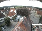 Archived image Webcam Stork Nest on top of the Town Hall of Jettingen-Scheppach 10:00