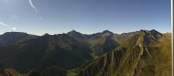 Archived image Webcam Alp Trida Sattel Lift in Samnaun 04:00