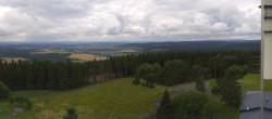 Archived image Webcam Bleßberg Mountain Near Sachsenbrunn 08:00
