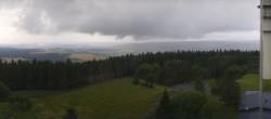 Archived image Webcam Bleßberg Mountain Near Sachsenbrunn 10:00