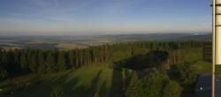 Archived image Webcam Bleßberg Mountain Near Sachsenbrunn 02:00
