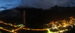 Archived image Webcam Mayrhofen im Zillertal: Zimmereben 22:00