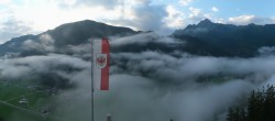 Archived image Webcam Mayrhofen im Zillertal: Zimmereben 00:00