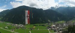 Archived image Webcam Mayrhofen im Zillertal: Zimmereben 06:00
