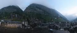 Archived image Webcam Panorama Hotel Zermatterhof 00:00