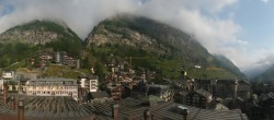 Archived image Webcam Panorama Hotel Zermatterhof 02:00