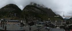 Archived image Webcam Panorama Hotel Zermatterhof 08:00