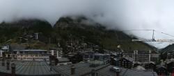Archived image Webcam Panorama Hotel Zermatterhof 10:00