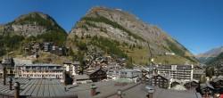 Archiv Foto Webcam Panorama Zermatterhof 06:00
