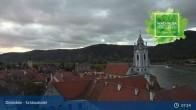 Archiv Foto Webcam Dürnstein: Stadt an der Donau 01:00