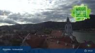 Archiv Foto Webcam Dürnstein: Stadt an der Donau 03:00