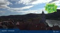 Archiv Foto Webcam Dürnstein: Stadt an der Donau 07:00