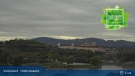 Archiv Foto Webcam Wachau: Blick auf Donau und Stift Melk 05:00