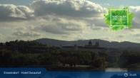 Archiv Foto Webcam Wachau: Blick auf Donau und Stift Melk 09:00