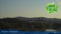 Archiv Foto Webcam Wachau: Blick auf Donau und Stift Melk 11:00
