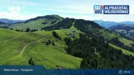 Archiv Foto Webcam Flying Cam: Wildschönau von oben 12:00