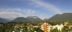 Archiv Foto Webcam Alpenresort Schwarz: Mieminger Plateau 02:00