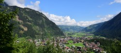 Archived image Webcam View of Mayrhofen im Zillertal 04:00