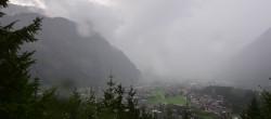 Archived image Webcam View of Mayrhofen im Zillertal 10:00