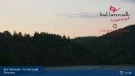 Archived image Webcam Hotel Schwarzwald Panorama in Bad Herrenalb 21:00