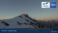 Archived image Webcam Oberstdorf: Möserbahn Top Station 21:00