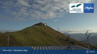 Archived image Webcam Oberstdorf: Möserbahn Top Station 03:00