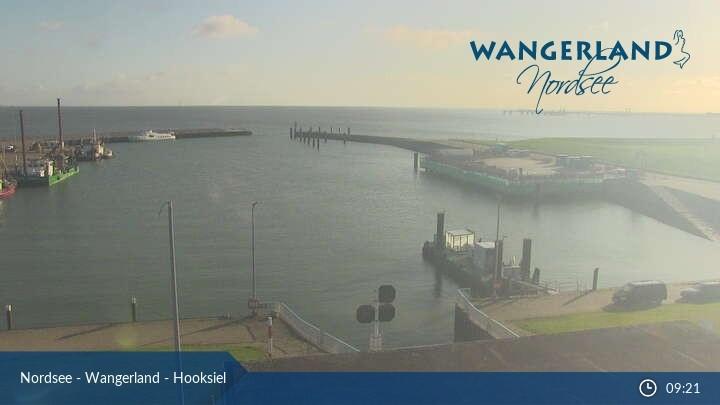 Webcam Hooksiel Außenhafen