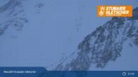 Archived image Webcam Stubai glacier: Daunjoch chair lift 19:00