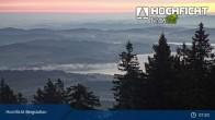 Archived image Webcam Klaffer am Hochficht - Hochfichtbahn Top Station 01:00