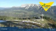 Archiv Foto Webcam Schladming - Planai Bergstation I 08:00