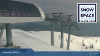 Archived image Webcam Chair Lift Starjet 3 (Top Station) 08:00