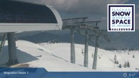 Archived image Webcam Chair Lift Starjet 3 (Top Station) 10:00
