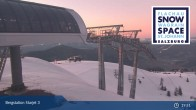 Archived image Webcam Chair Lift Starjet 3 (Top Station) 21:00