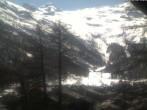 Archived image Webcam Saas Fee glacier tourist office 08:00