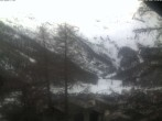 Archived image Webcam Saas Fee glacier tourist office 12:00