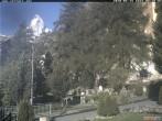 Archiv Foto Webcam Zermatt Kirche 02:00