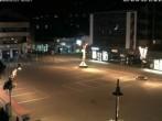 Archived image Webcam Zermatt Railway station 20:00