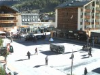 Archived image Webcam Zermatt Railway station 04:00