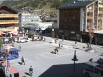Archived image Webcam Zermatt Railway station 08:00