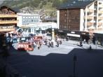 Archived image Webcam Zermatt Railway station 10:00