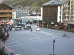 Archived image Webcam Zermatt Railway station 12:00