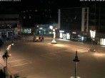 Archiv Foto Webcam Zermatt Bahnhofplatz 22:00