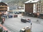 Archiv Foto Webcam Zermatt Bahnhofplatz 02:00