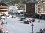 Archiv Foto Webcam Zermatt Bahnhofplatz 06:00