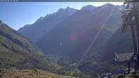 Archiv Foto Webcam Aroleid Matterhorn Paradise 02:00